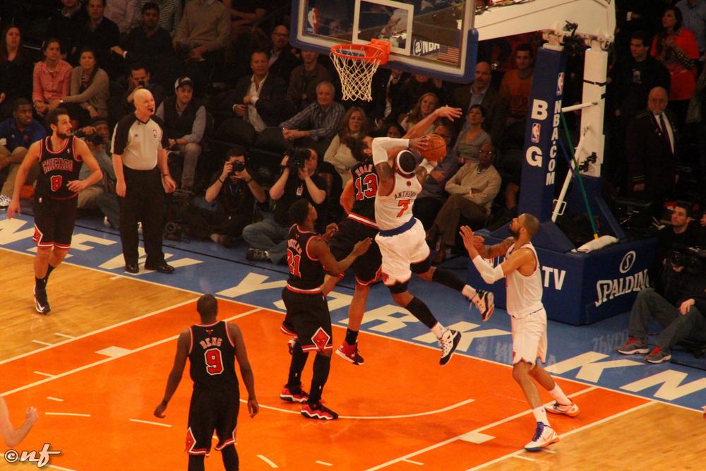 Chicago Bulls vs NY Knicks