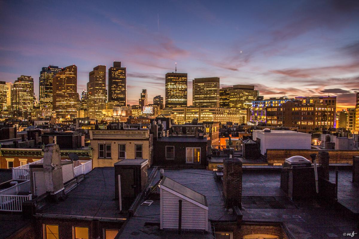 Downtown visto de North End