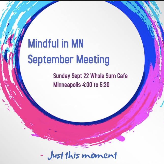 Mindful in MN September Meeting