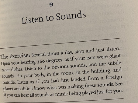 Mindful Activity Of The Week~Listen to Sounds