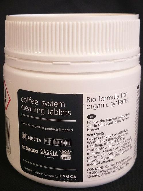 Rensetabletter til kaffemaskiner