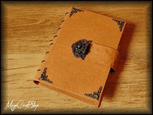 Book of shadows MEDIEVAL LOCK - Medium size 22x16 cm