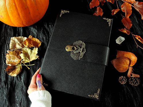 Book of shadows KEY LOCK - BIG size 31x22 cm