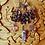 Thumbnail: Rose petals resin runic pendant necklace