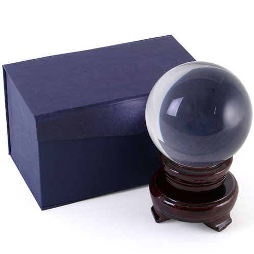 13cm Crystal Ball with Stand