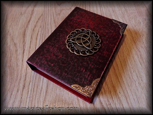 CELTIC TRIQUETRA Book of Shadows - MINI size 8,3x11,3 cm