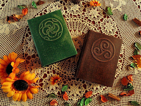 Secret circle book of shadows Diana Meade Cassie Blake - SMALL size 16,2x11,8 cm
