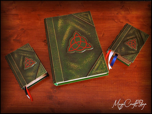 Charmed BOOK OF SHADOWS replica with originals pages - SMALL size - 16,2x11,8 cm