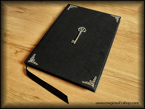Wicca Book of Shadows with decorated pages - BIG size 31x22 cm