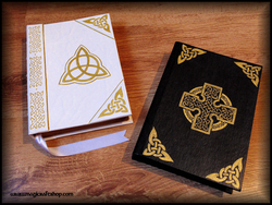 celtic cross book of shadows