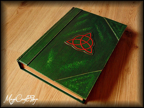 Charmed BOOK OF SHADOWS with SCREWS and blank pages - BIG size - 31x22 cm