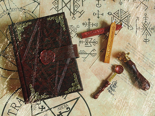 Book of Shadows Inferno - SMALL size 16,2x11,8 cm