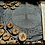 Thumbnail: Rune Futhark divination set in natural wood and decorative bag