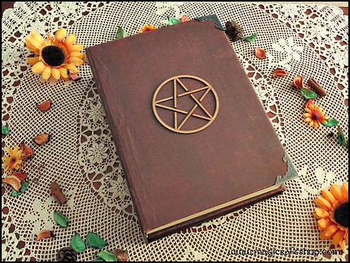 Practical Magic Book of Shadows with Pentacle Big size A4 31x22 cm