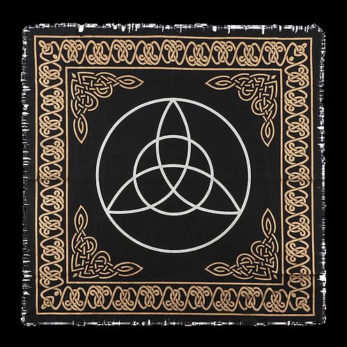 64x64cm Triquetra Altar Cloth