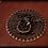 Thumbnail: Book of shadows BROWN DRAGON - SMALL size 16,2x11,8 cm