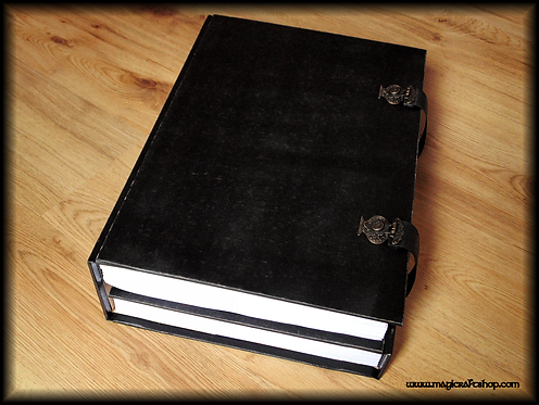 PRACTICAL MAGIC Book of Shadows with locks and screws - A4 size