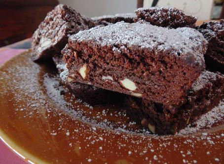 Samhain recipe: chocolate brownie