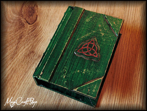 MICRO CHARMED Book of Shadows - MICRO size 8x6 cm