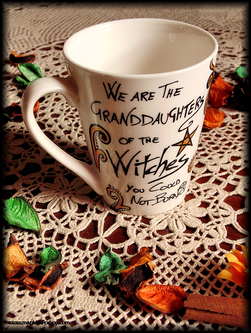 Granddaughters Witches Tea mug