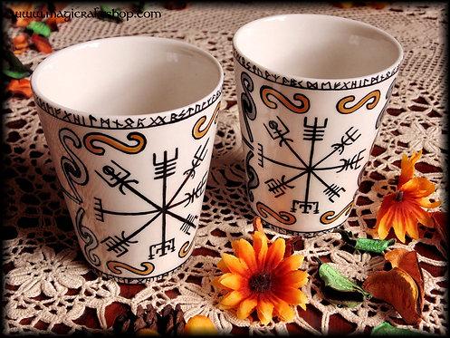 Tè Mug VEGVISIR STYLE