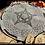Thumbnail: Set of WITCHES RUNES with divination bag and paper meaning