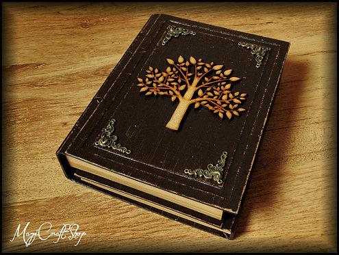Book of shadows TREE OF LIFE - MEDIUM size - 22x16 cm