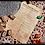 Thumbnail: Rune Futhark divination set in natural wood and decorative bag