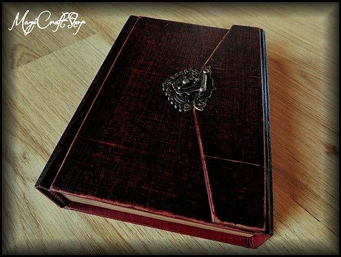 Book of shadows ANCIENT LOCK - BIG size - 31x22 cm