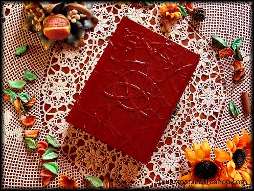 PENTACLE LOCK Book of Shadows - MEDIUM size 22x16 cm