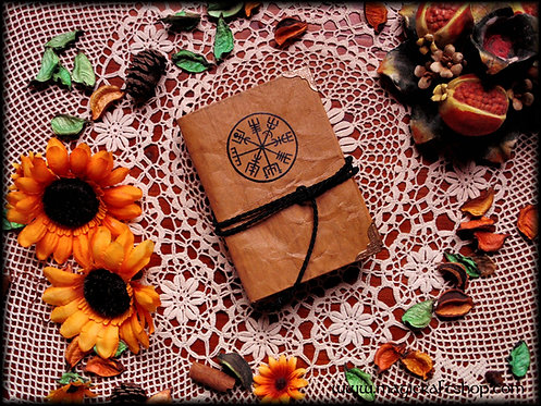 ANCIENT SYMBOL Book of shadows - SMALL size 8,3x11,3 cm