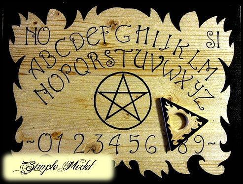 Ouija board ESOTERIC in four different patterns