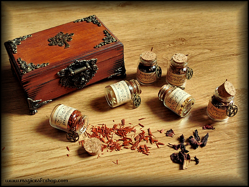 WICCA HERBS started kit