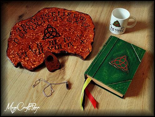 MEDIUM original Charmed box with Original book, ouija board, pendulum and mug