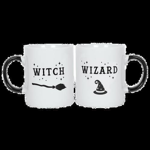 Witch wizard mug