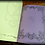 Thumbnail: Wicca Book of Shadows with decorated pages - BIG size 31x22 cm