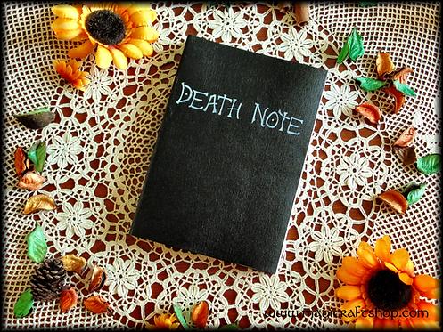Manga Death Note Book Replica with original rules