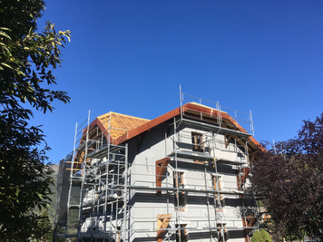 Roof - under construction