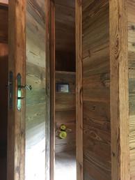 New Door with Old Wood
