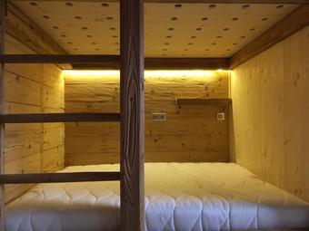 Double double bunk beds