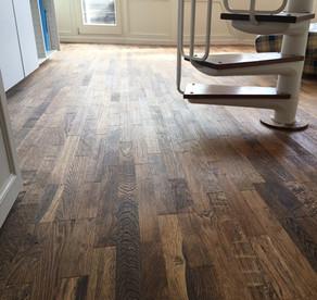 Oak floor Avoriaz