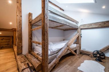 Apartment renovation Morzine - Bunk beds