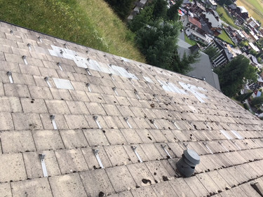 Roof repair Les Gets After