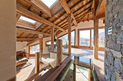 Old wood new build chalet