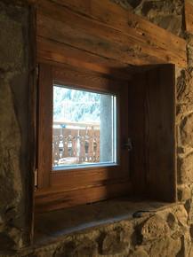 Morzine bedroom window
