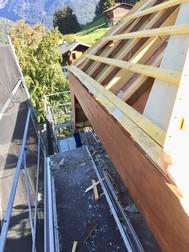 Roof - under construction Morzine