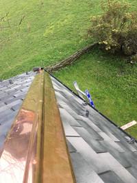 Copper roof repair Morzine