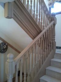 Oak Staircase Les Gets