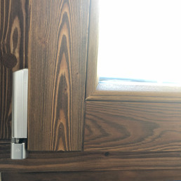 Window detail hinge