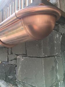 Copper Gutting Morzine